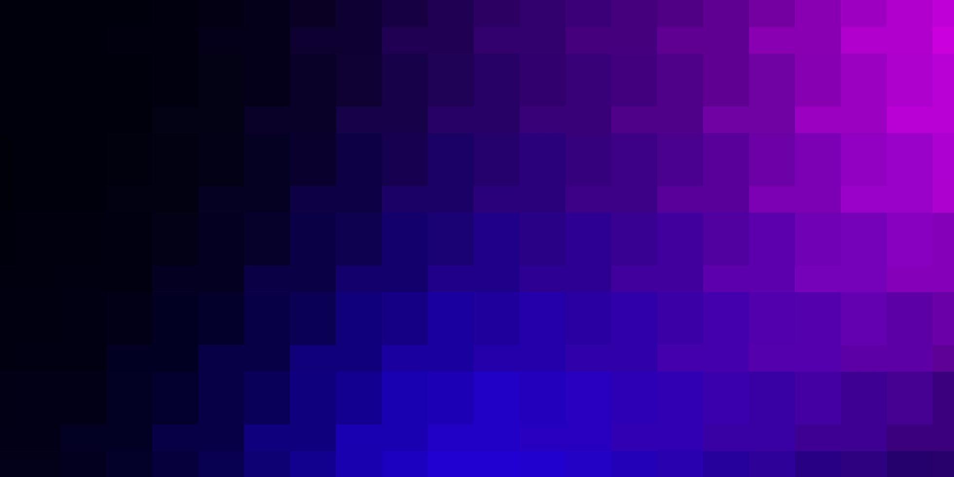 lichtroze, blauw vector sjabloon in rechthoeken.