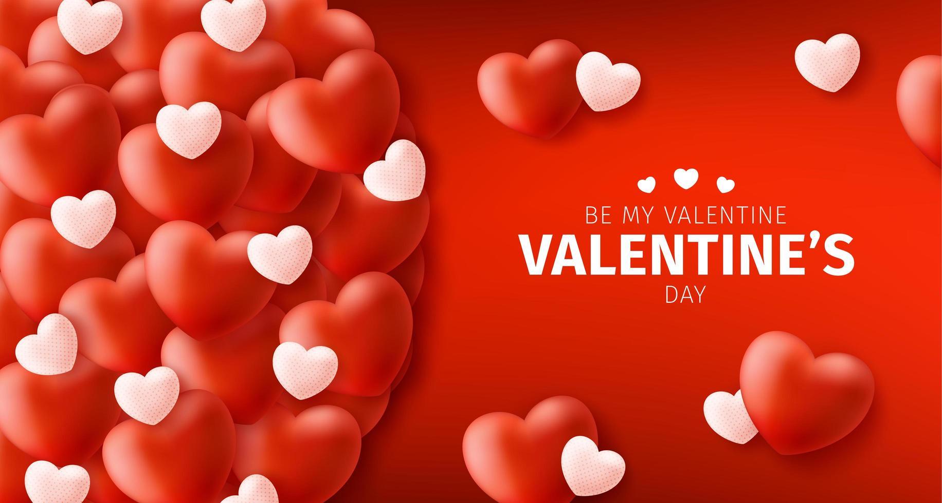 gelukkige en veilige Valentijnsdag verkoop achtergrond vector