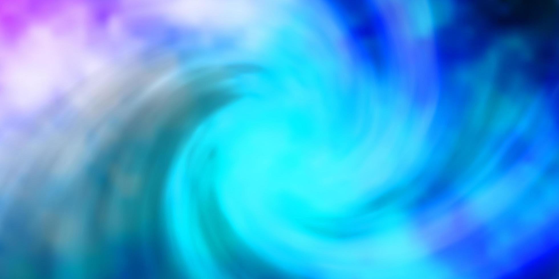 lichtroze, blauw vectorpatroon met wolken. vector