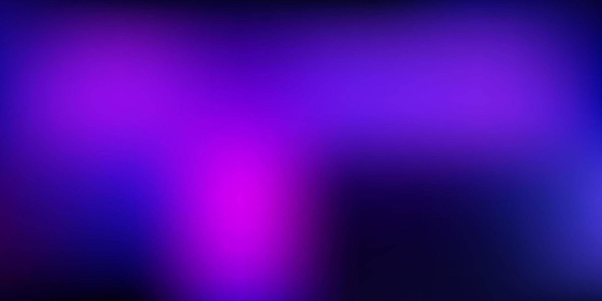 donkerpaars, roze vector verloop vervagen lay-out.