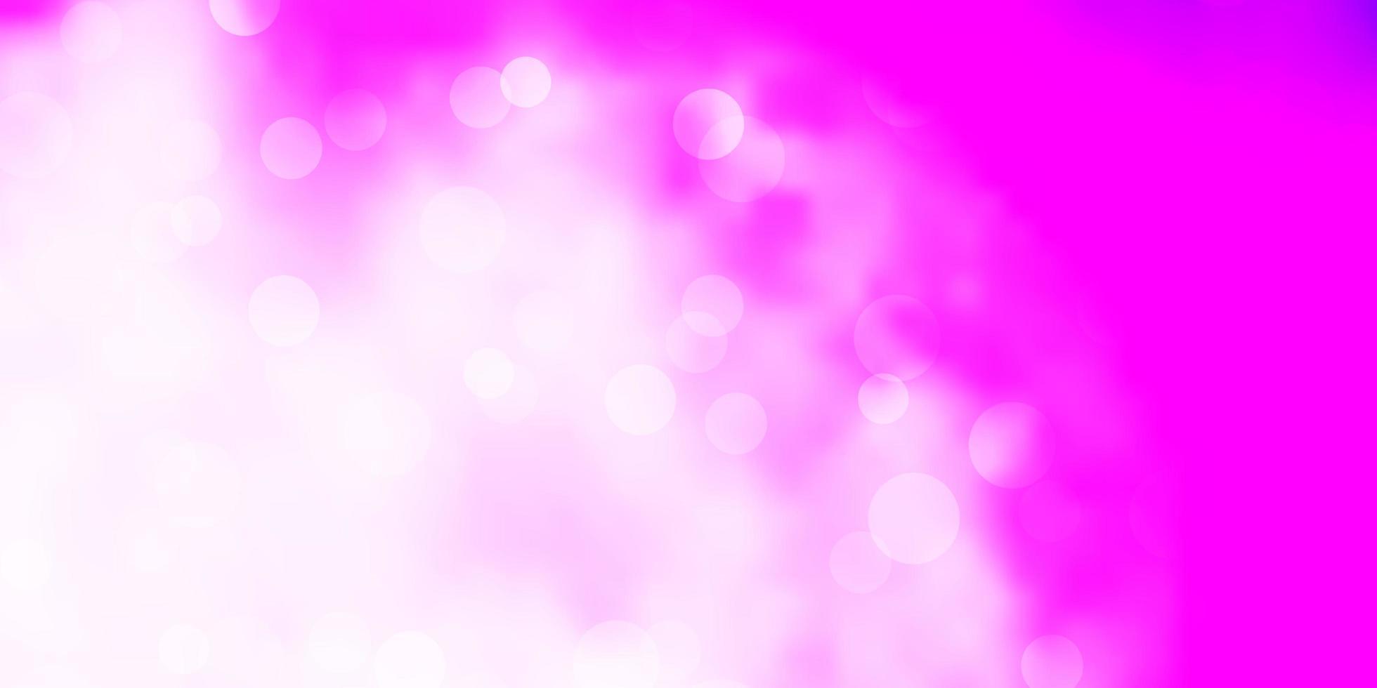 lichtroze vectortextuur met schijven. vector