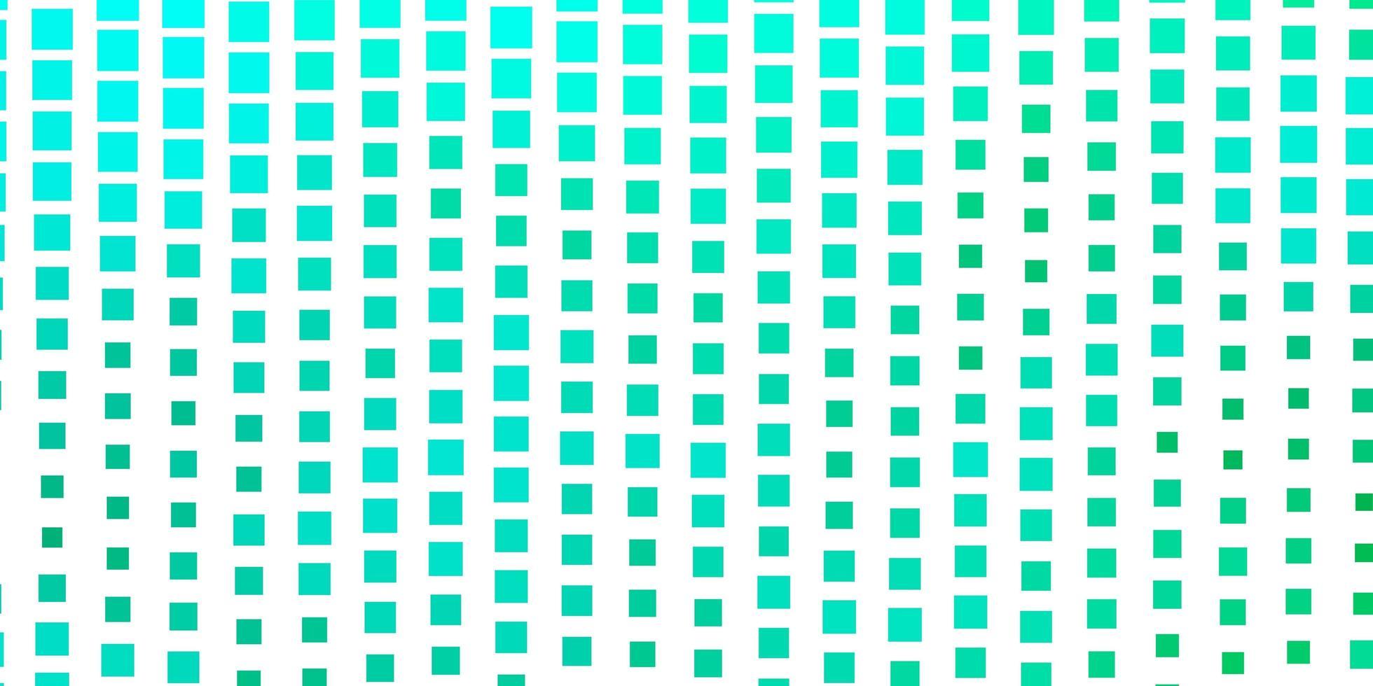 lichtgroene vectorachtergrond met rechthoeken. vector