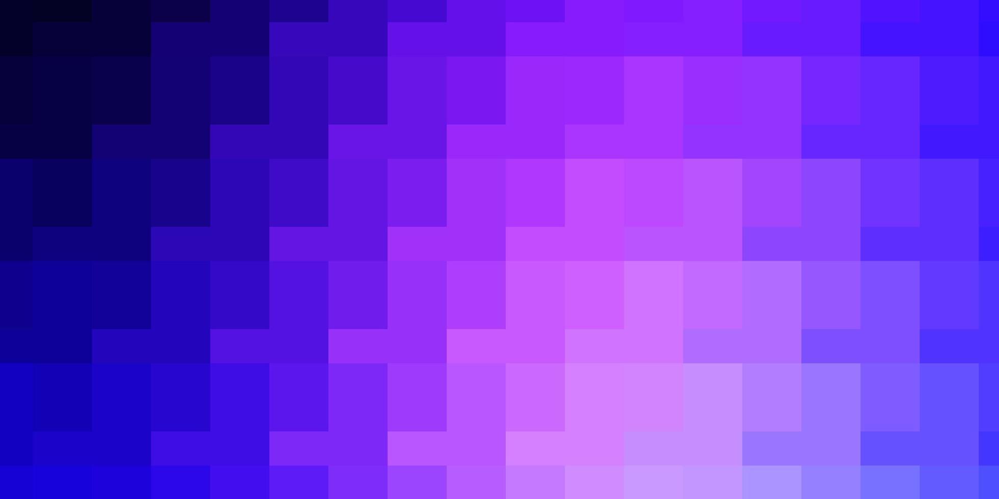 lichtroze, blauw vector sjabloon met rechthoeken.
