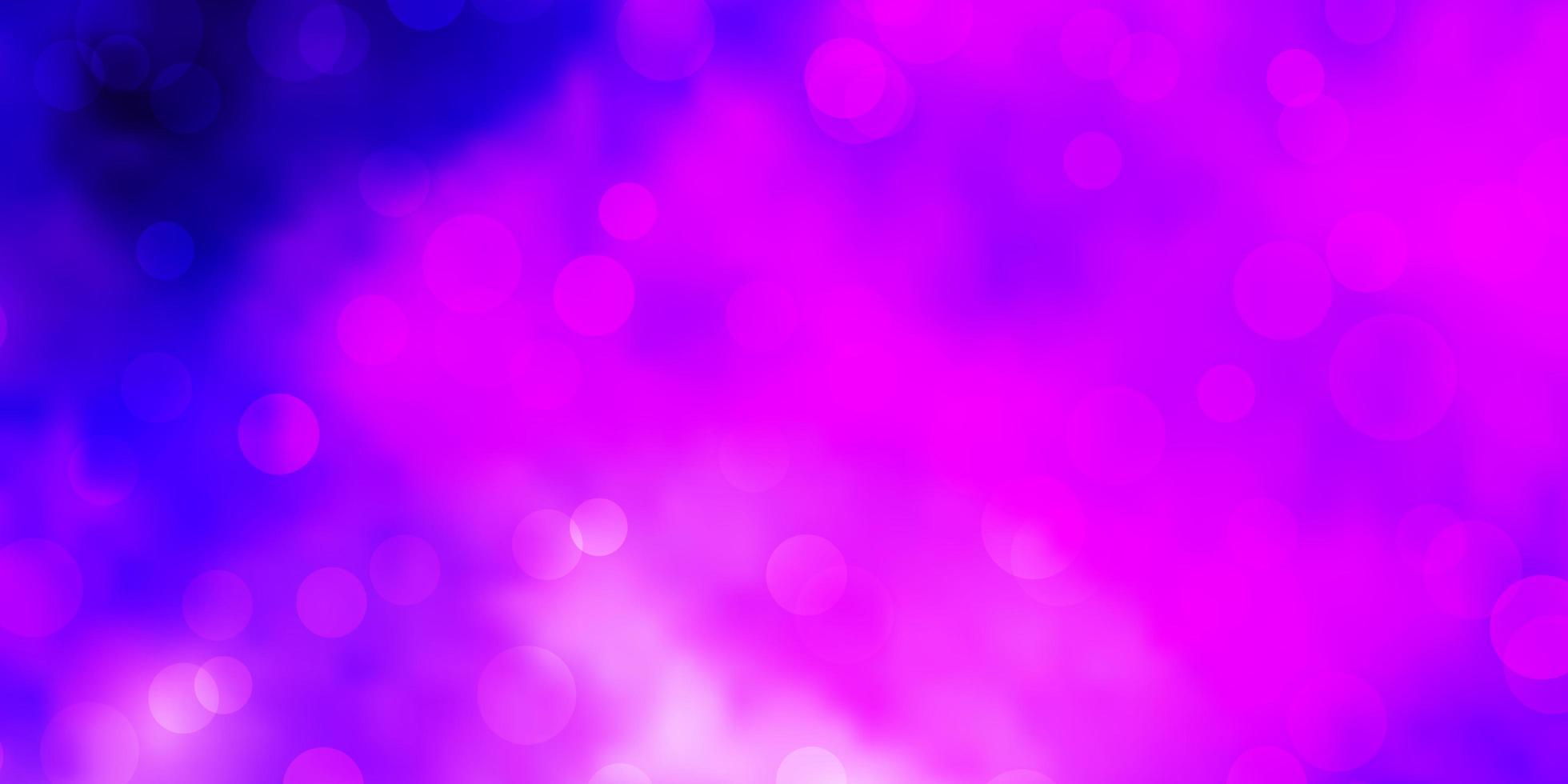 lichtpaarse vector achtergrond met bubbels.