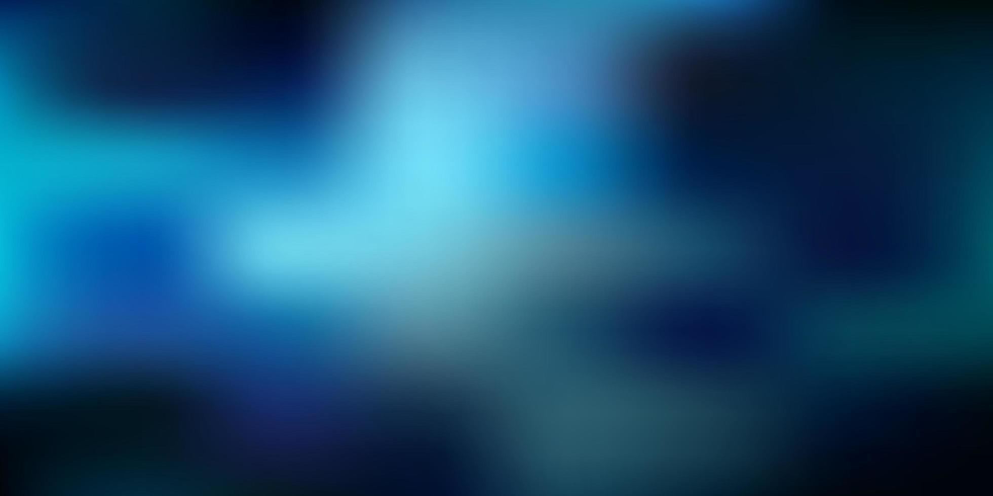donkerblauwe vector onscherpe achtergrond.