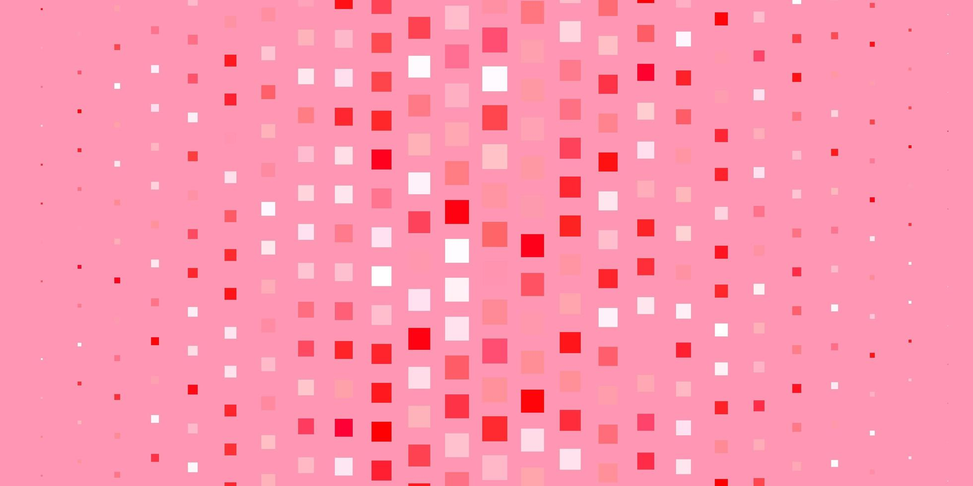 lichtrode vectortextuur in rechthoekige stijl. vector