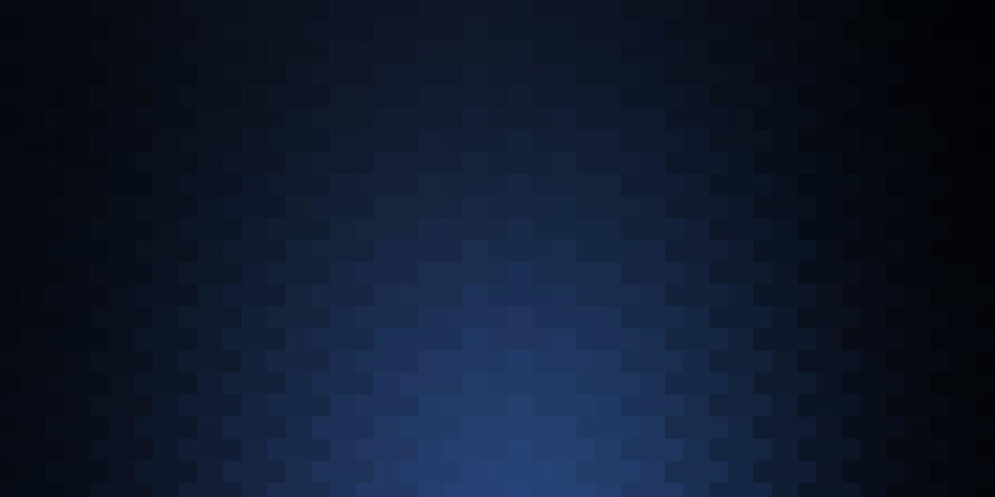 donkerblauwe vectorachtergrond met rechthoeken. vector