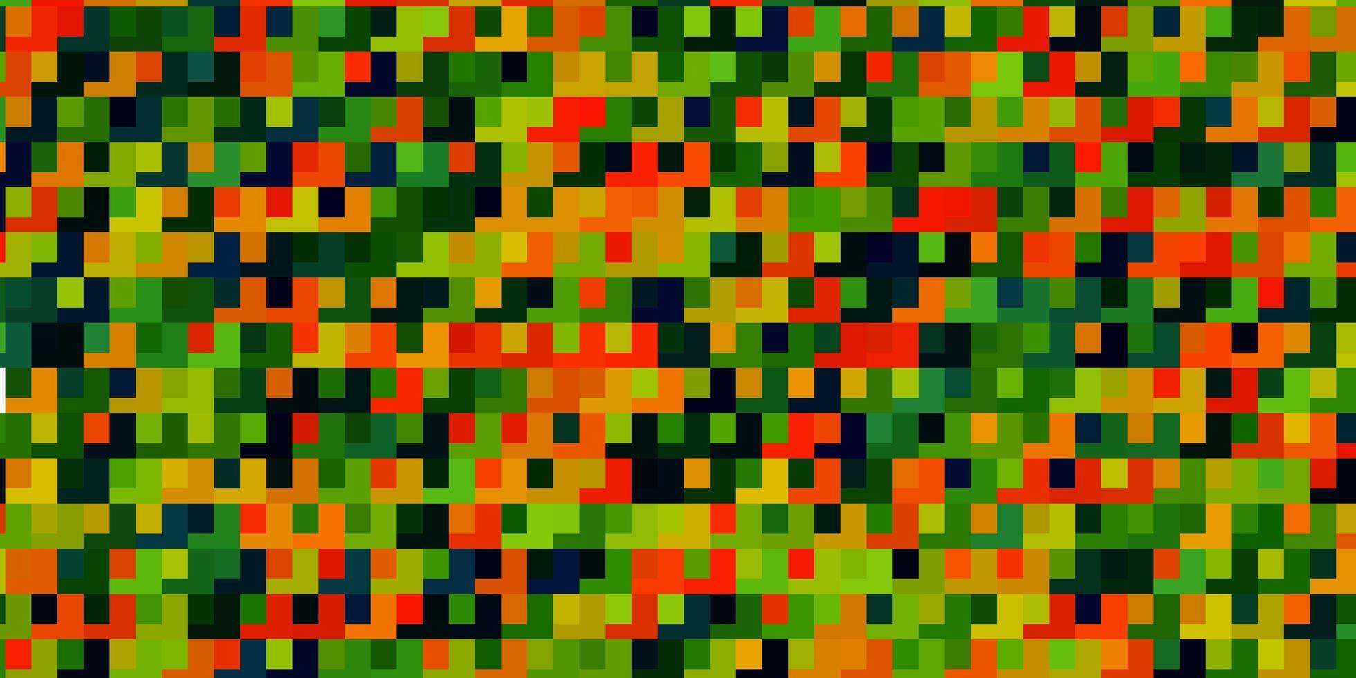 licht veelkleurige vector achtergrond in veelhoekige stijl.