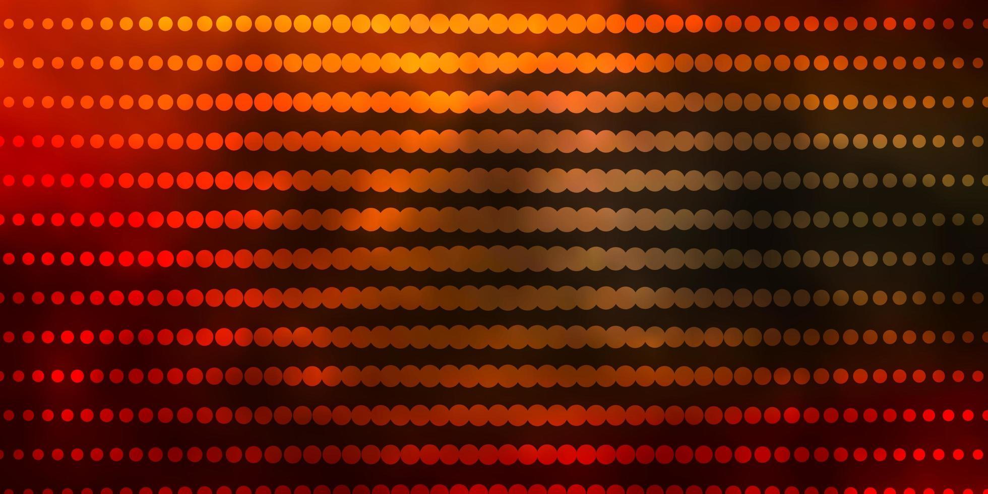 lichtgroene, rode vectorachtergrond met cirkels. vector