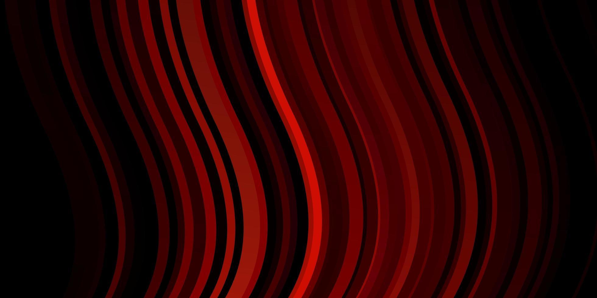donkerroze, rode vectortextuur met wrange lijnen. vector