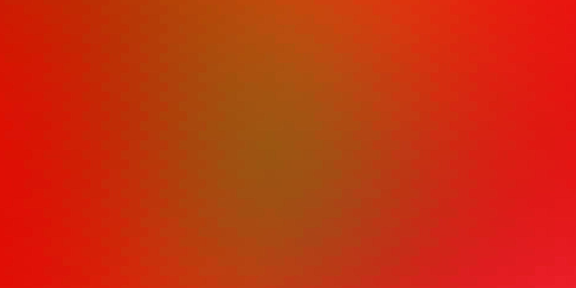 lichtrode, gele vectortextuur in rechthoekige stijl. vector