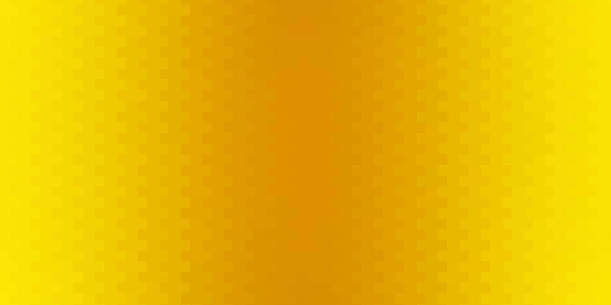 donker gele vectortextuur in rechthoekige stijl. vector
