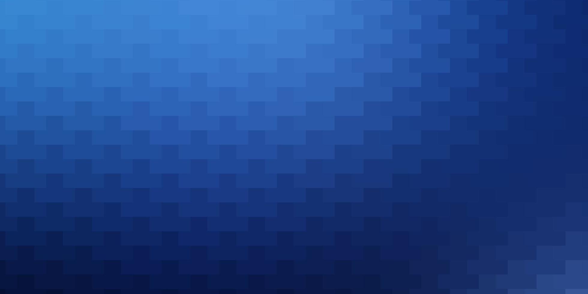 donkerblauwe vectortextuur in rechthoekige stijl. vector