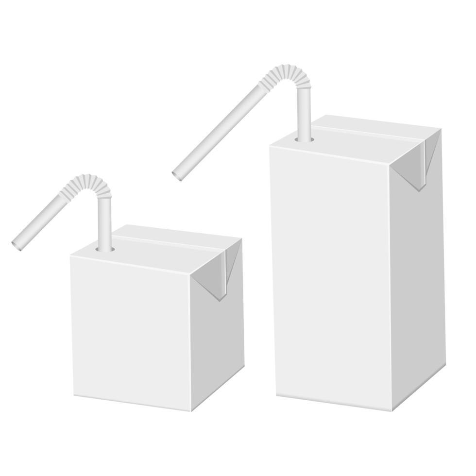 rietsap karton pakket vector ontwerp illustratie geïsoleerd op een witte achtergrond