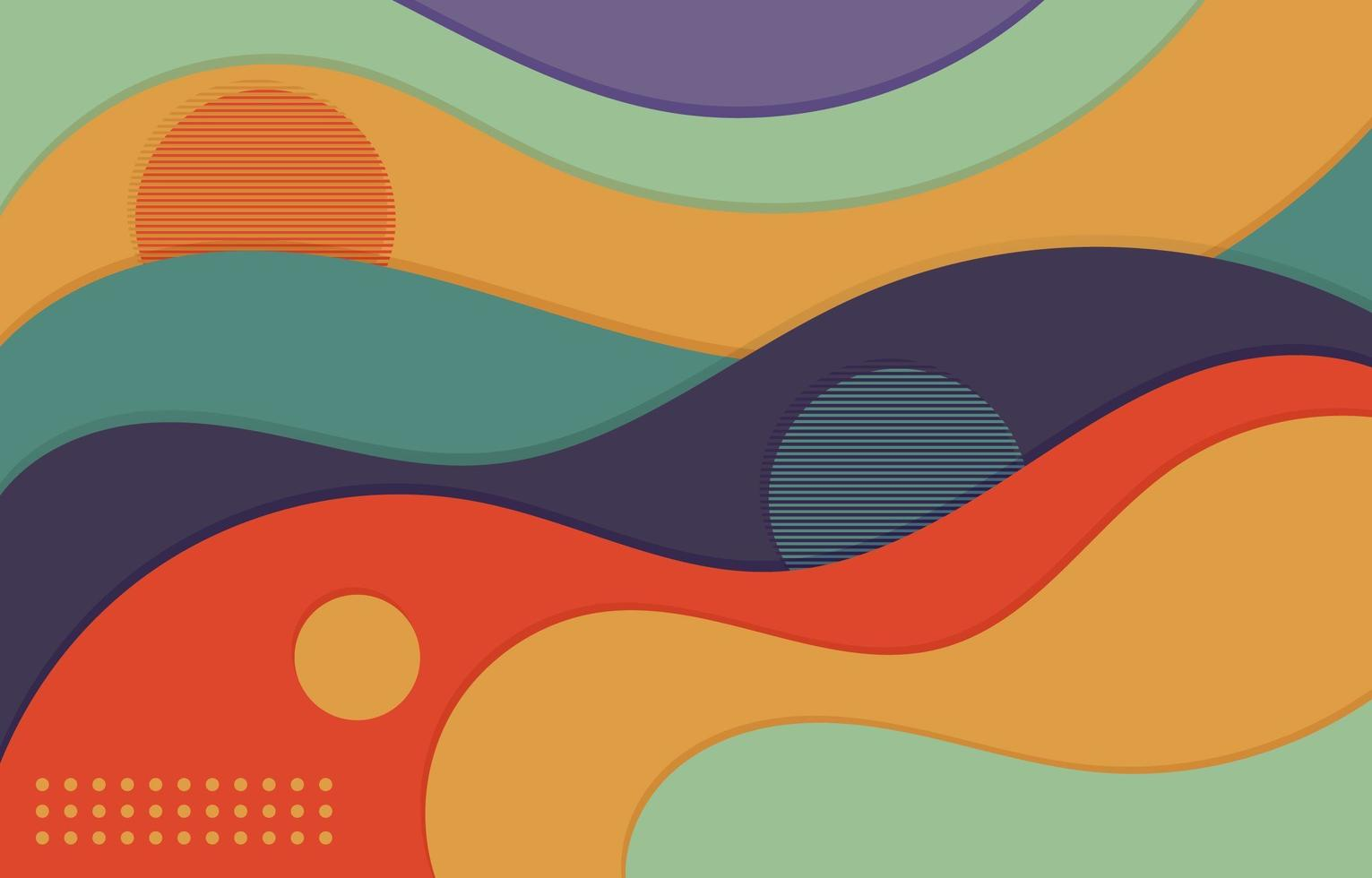 dynamische abstracte achtergrond vector