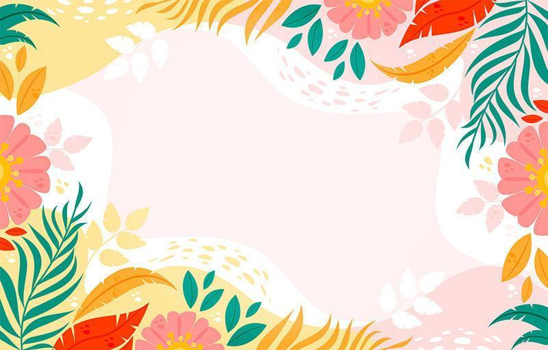 kleurrijk bloemenontwerp als achtergrond vector