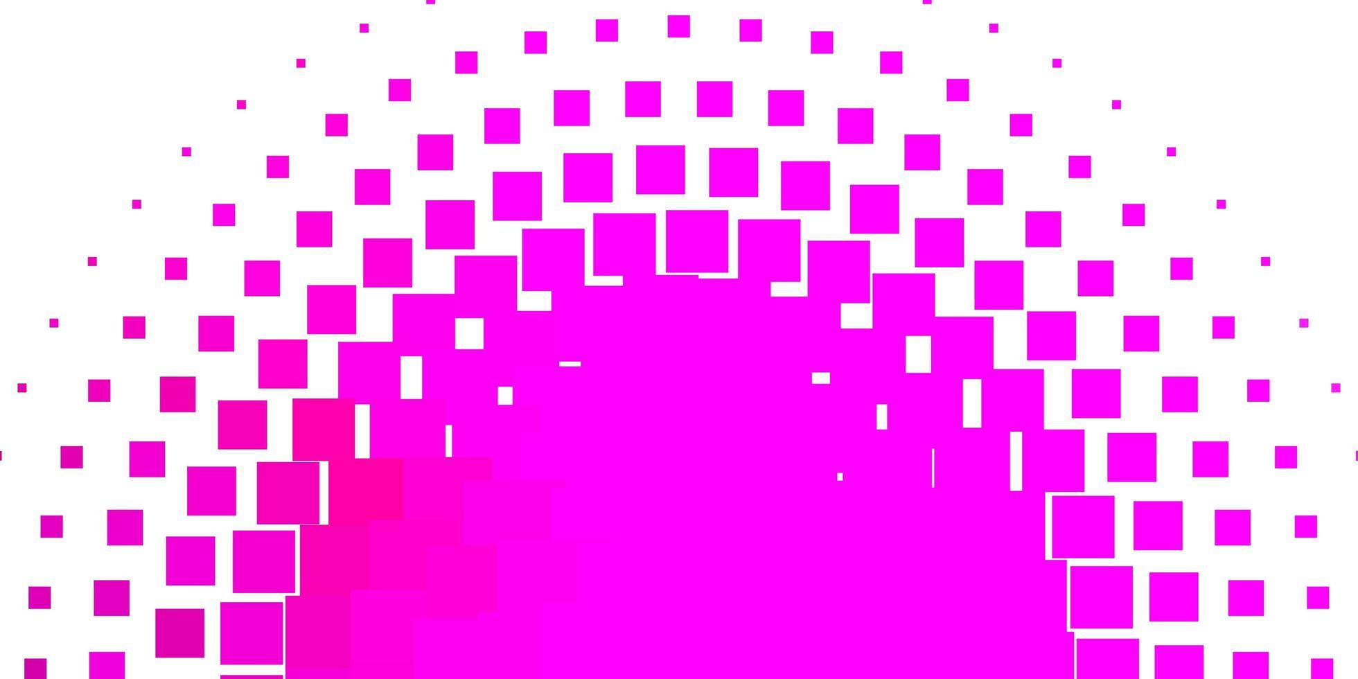 lichtroze vectorpatroon in vierkante stijl. vector