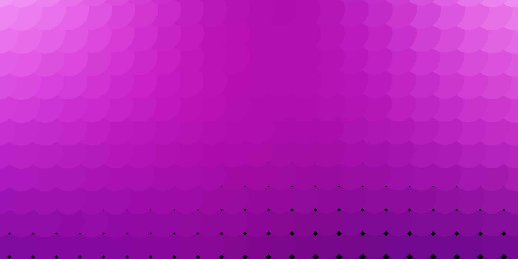 lichtroze vector achtergrond met cirkels.