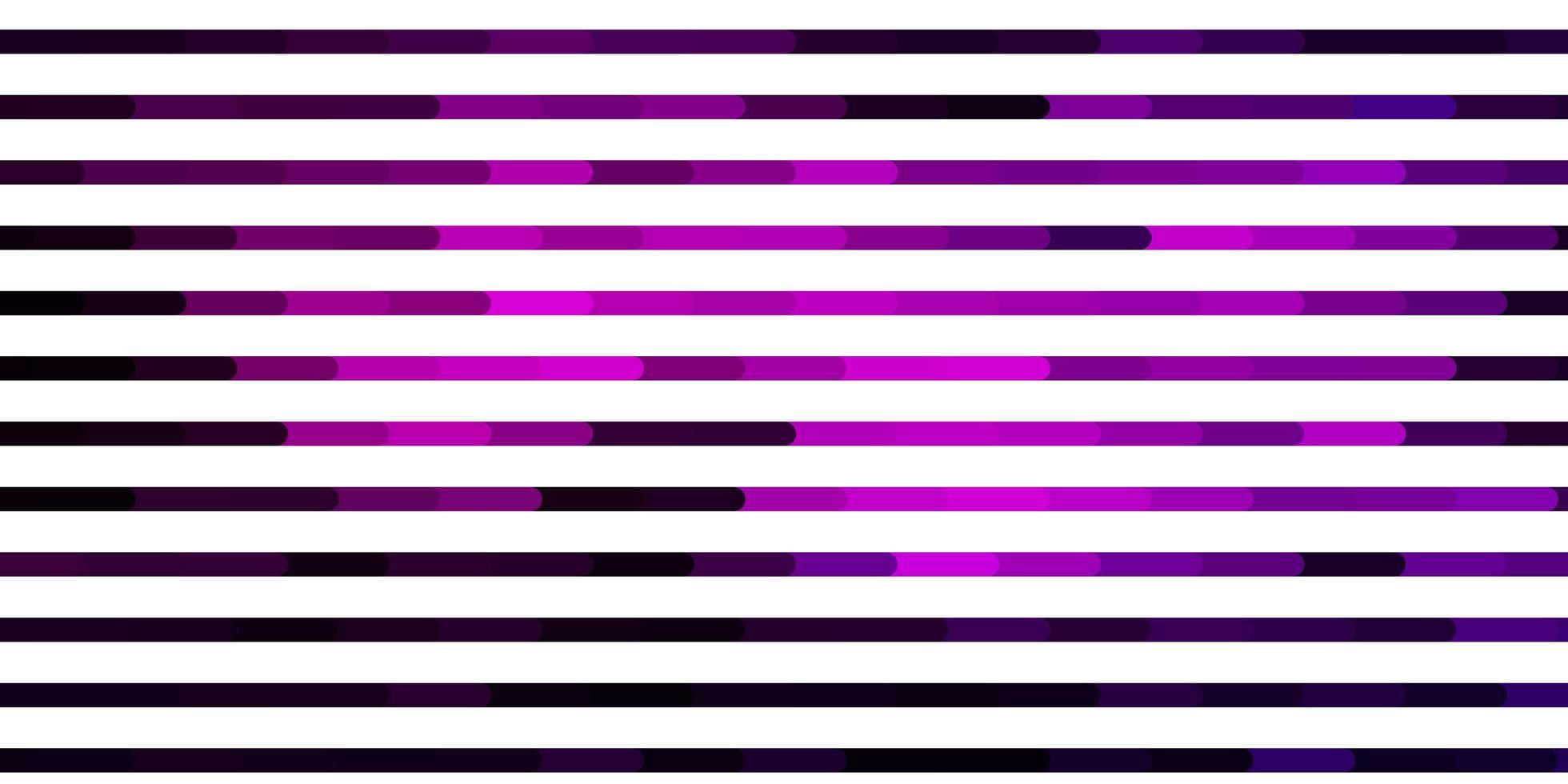 donkerroze vectorachtergrond met lijnen. vector