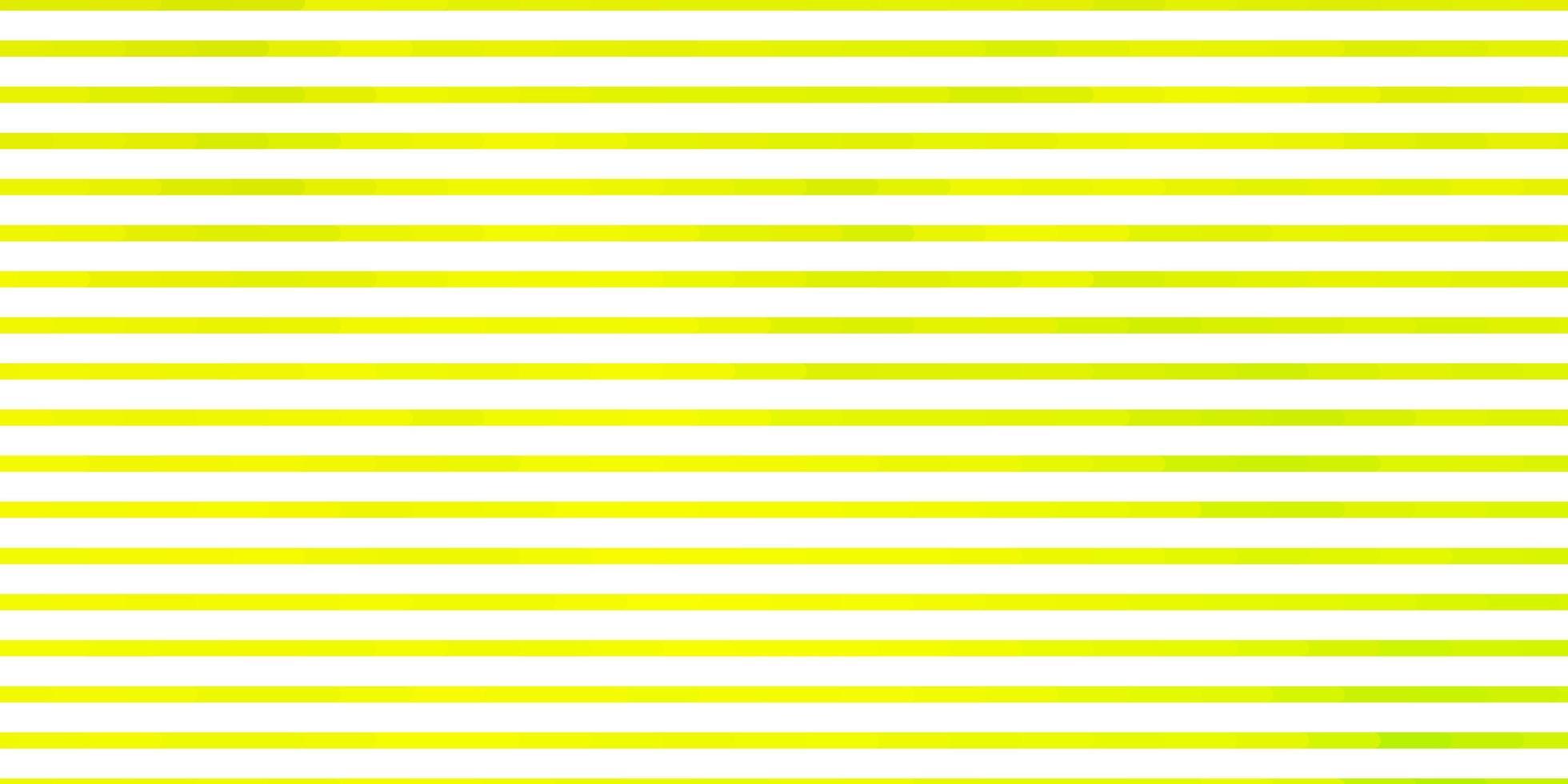 lichtgroene, gele vectortextuur met lijnen. vector