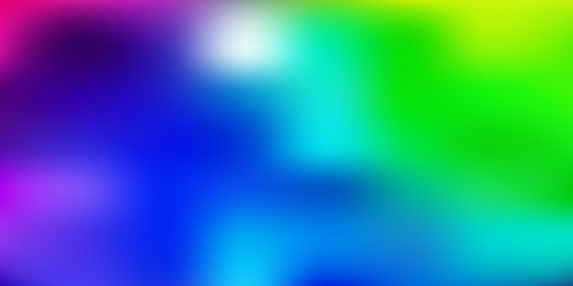 licht veelkleurige vector wazig lay-out.