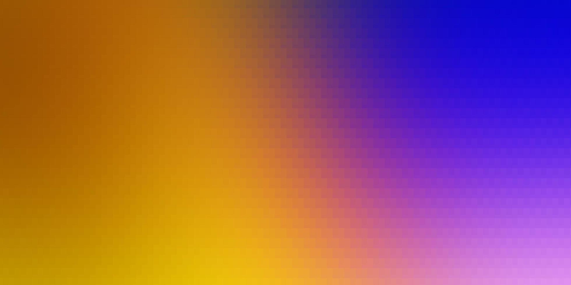 lichtroze, geel vector sjabloon in rechthoeken.