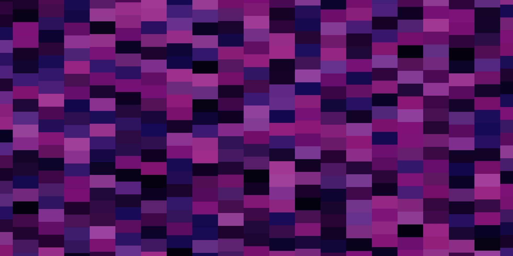 donkerroze vectorpatroon in vierkante stijl. vector