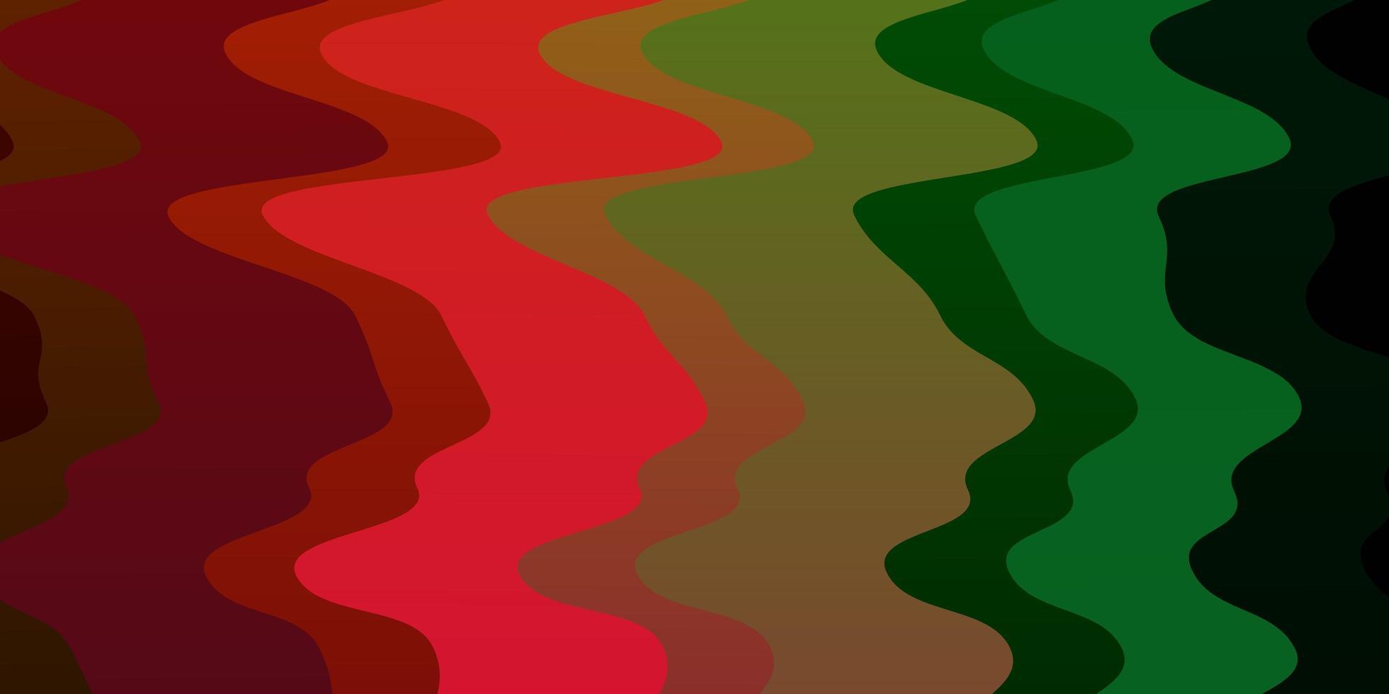 donkere veelkleurige vectortextuur met cirkelboog. vector