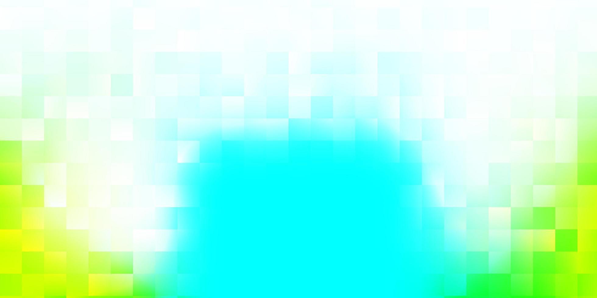 lichtblauwe, groene vectortextuur met Memphis-vormen vector