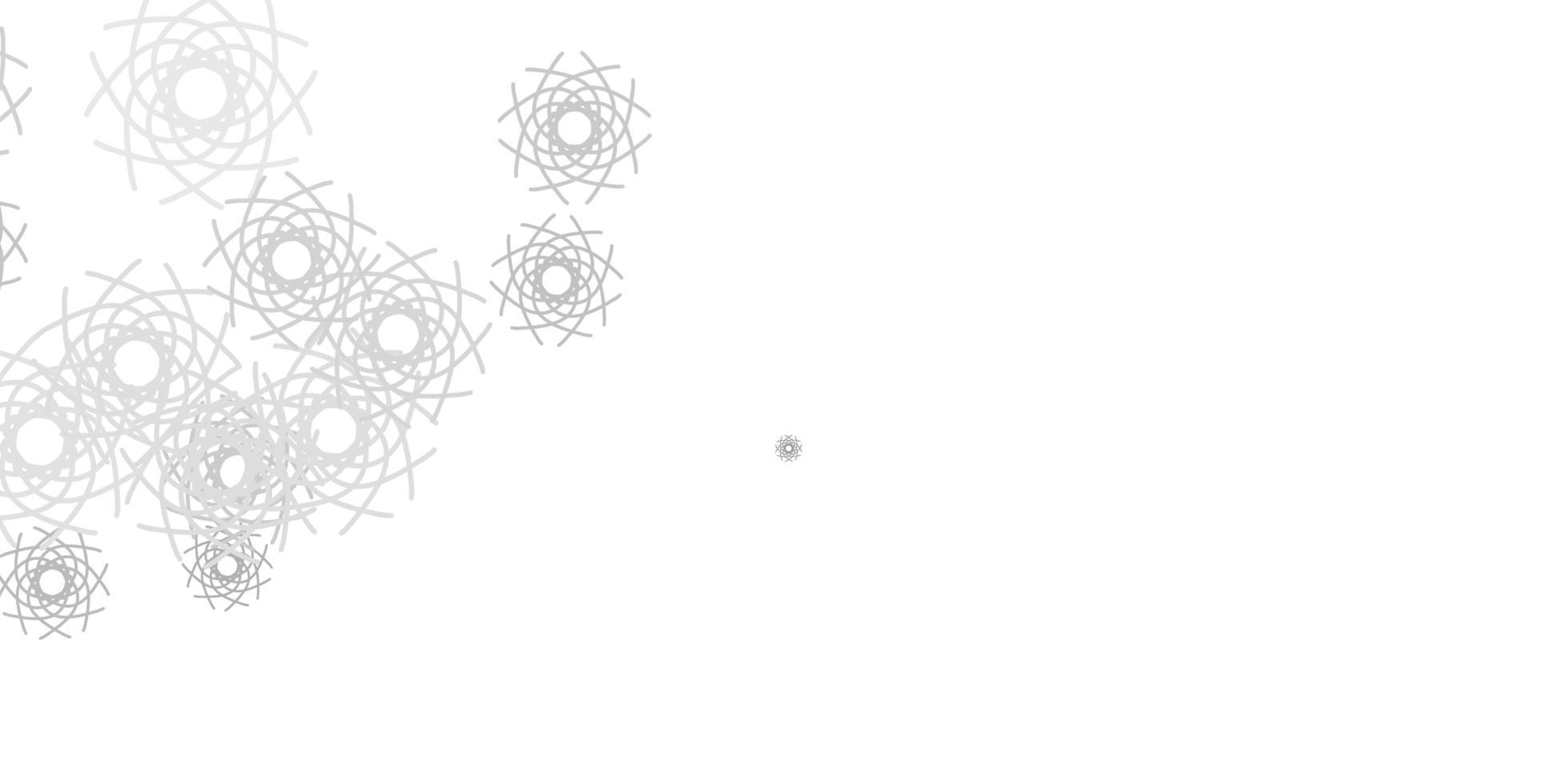 lichtgrijze vectortextuur met Memphis-vormen. vector