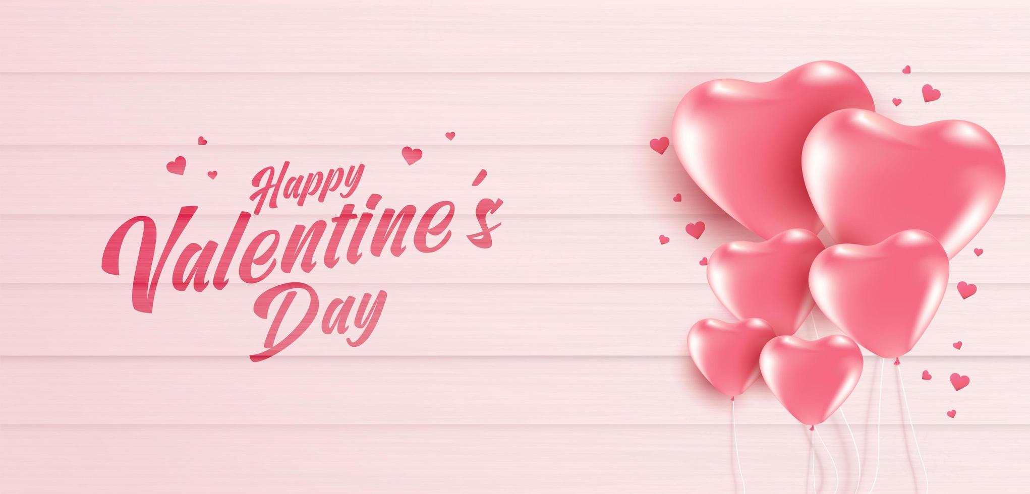 Valentijnsdag verkoop poster of banner vector