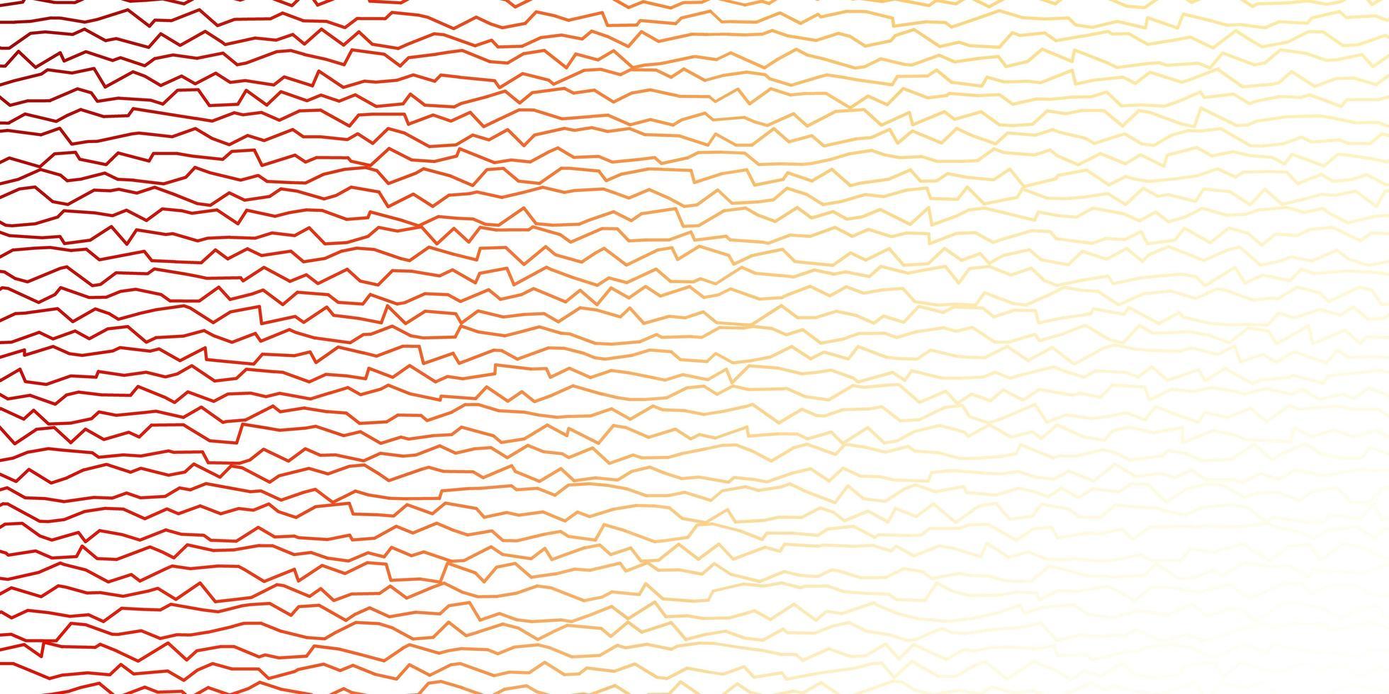 donkeroranje vectorlay-out met wrange lijnen. vector