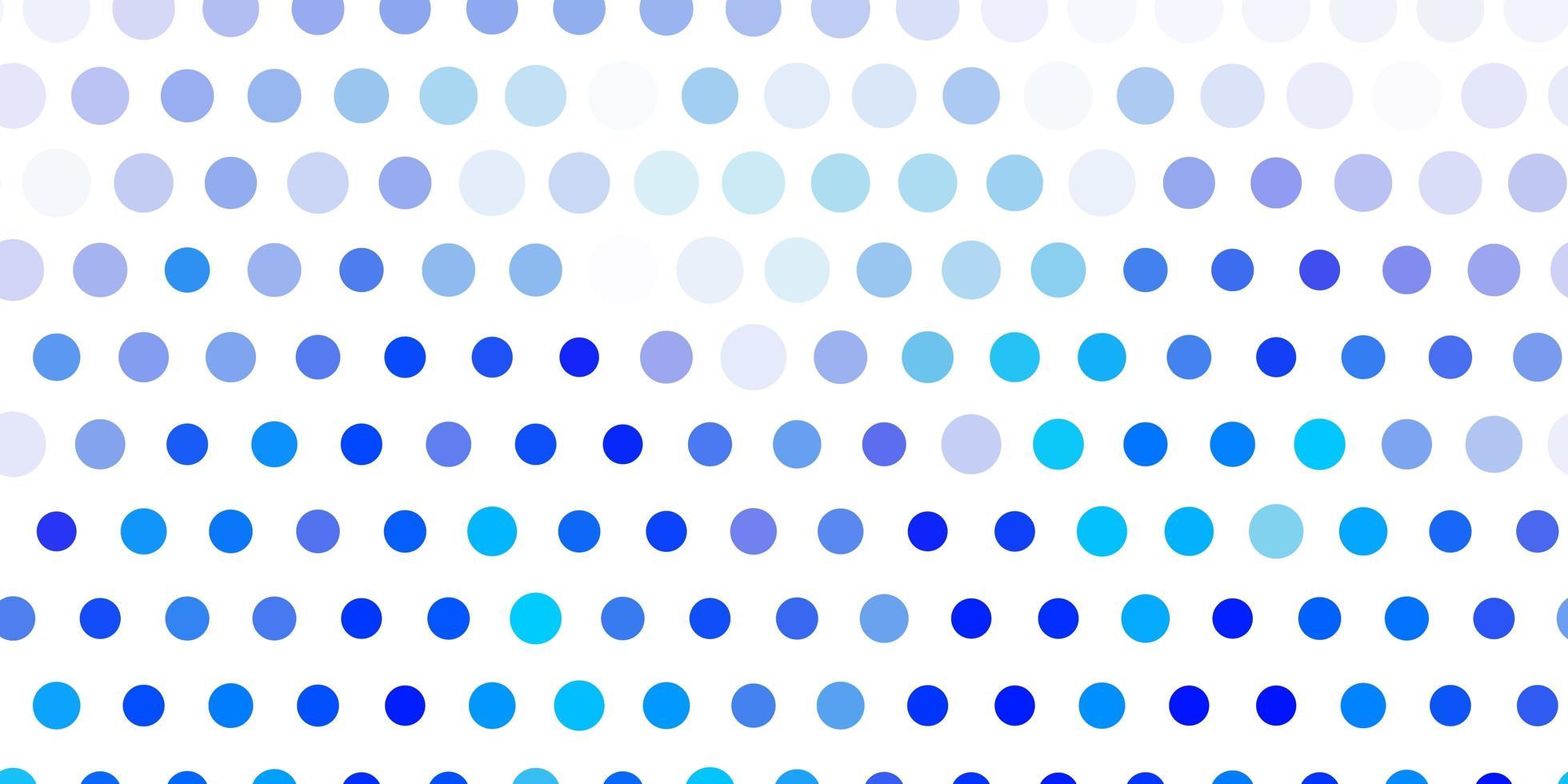 lichtblauw vectorpatroon met bollen. vector