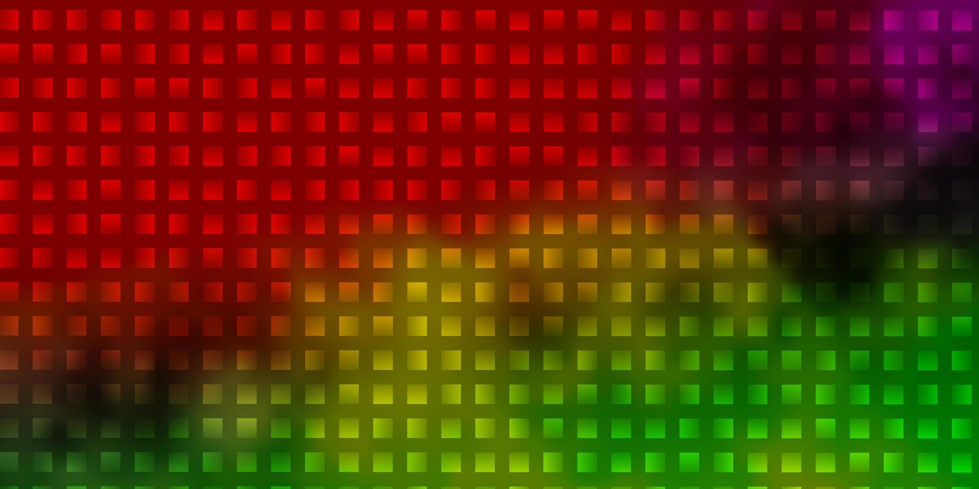 licht veelkleurige vector sjabloon met rechthoeken.