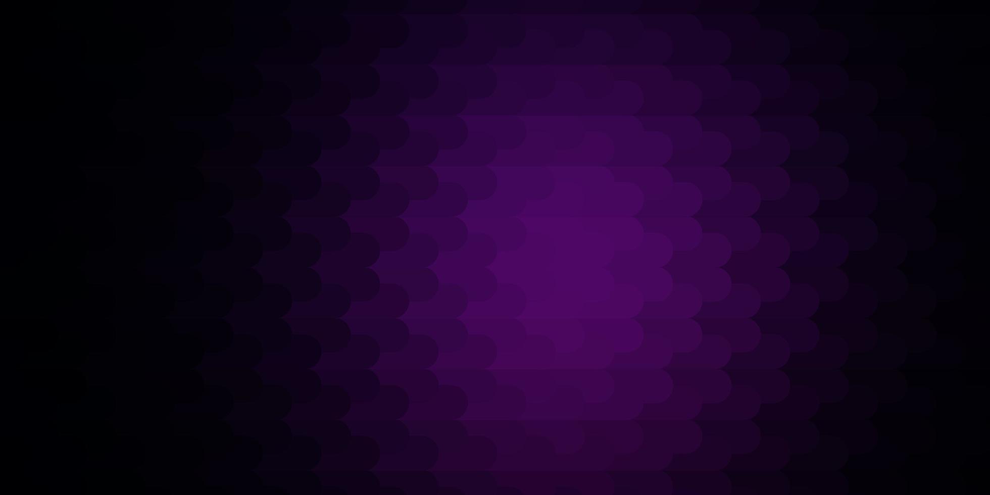 donkerroze vectorpatroon met lijnen. vector
