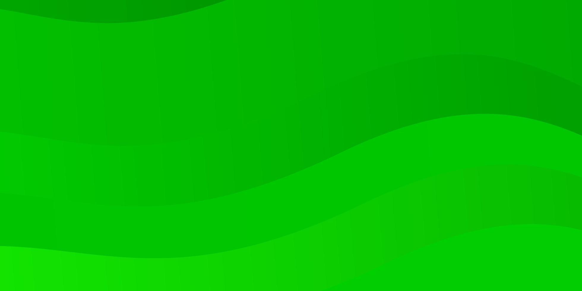 lichtgroene vectorlay-out met cirkelboog. vector