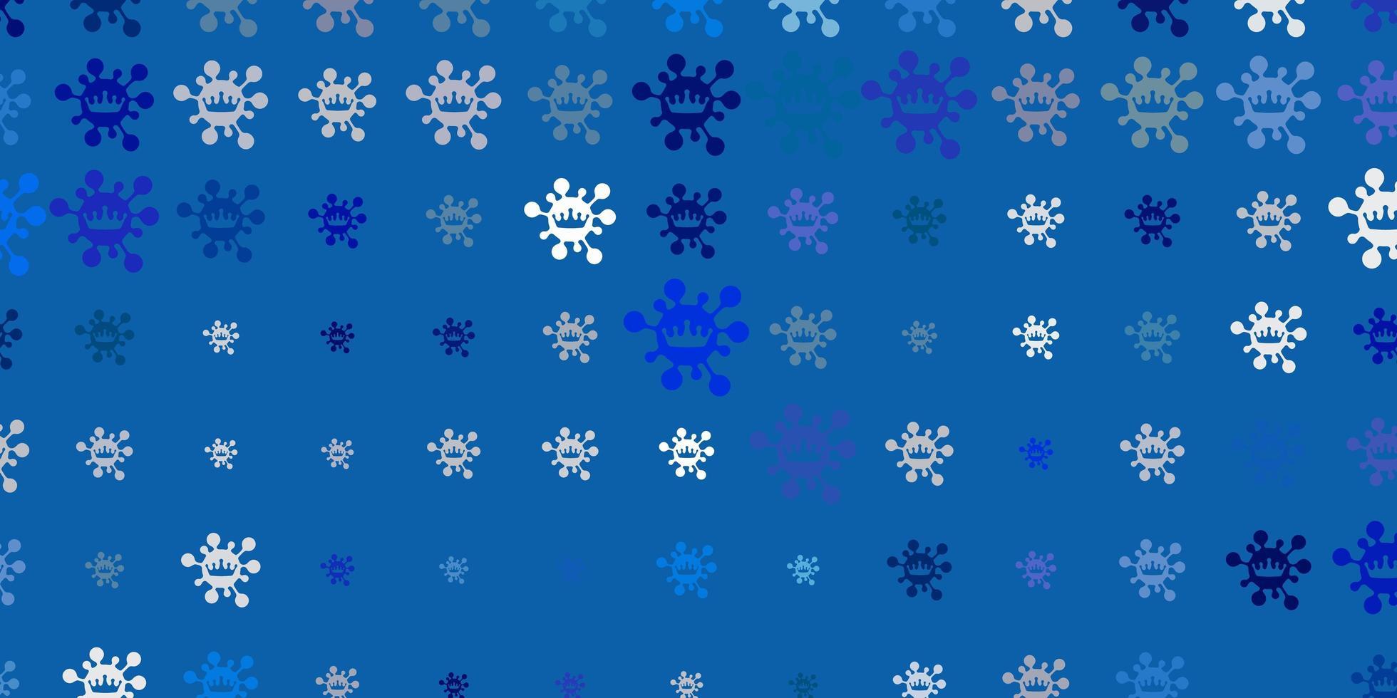 lichtblauwe vectormalplaatje met grieptekens. vector