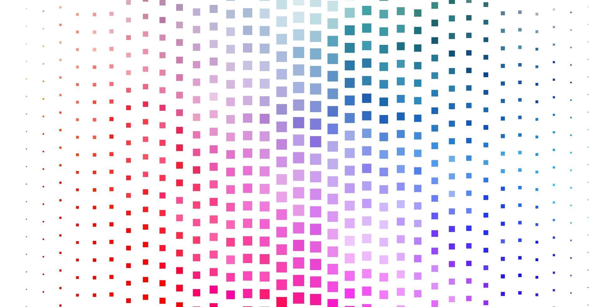 donkere veelkleurige vectortextuur in rechthoekige stijl. vector