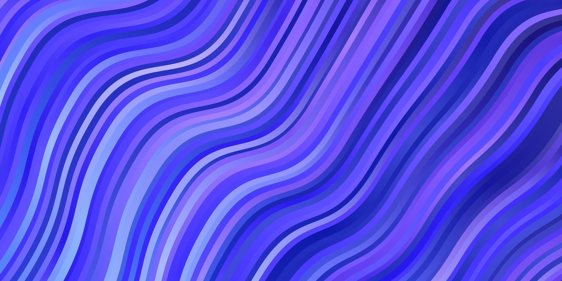 lichtroze, blauwe vectortextuur met wrange lijnen. vector