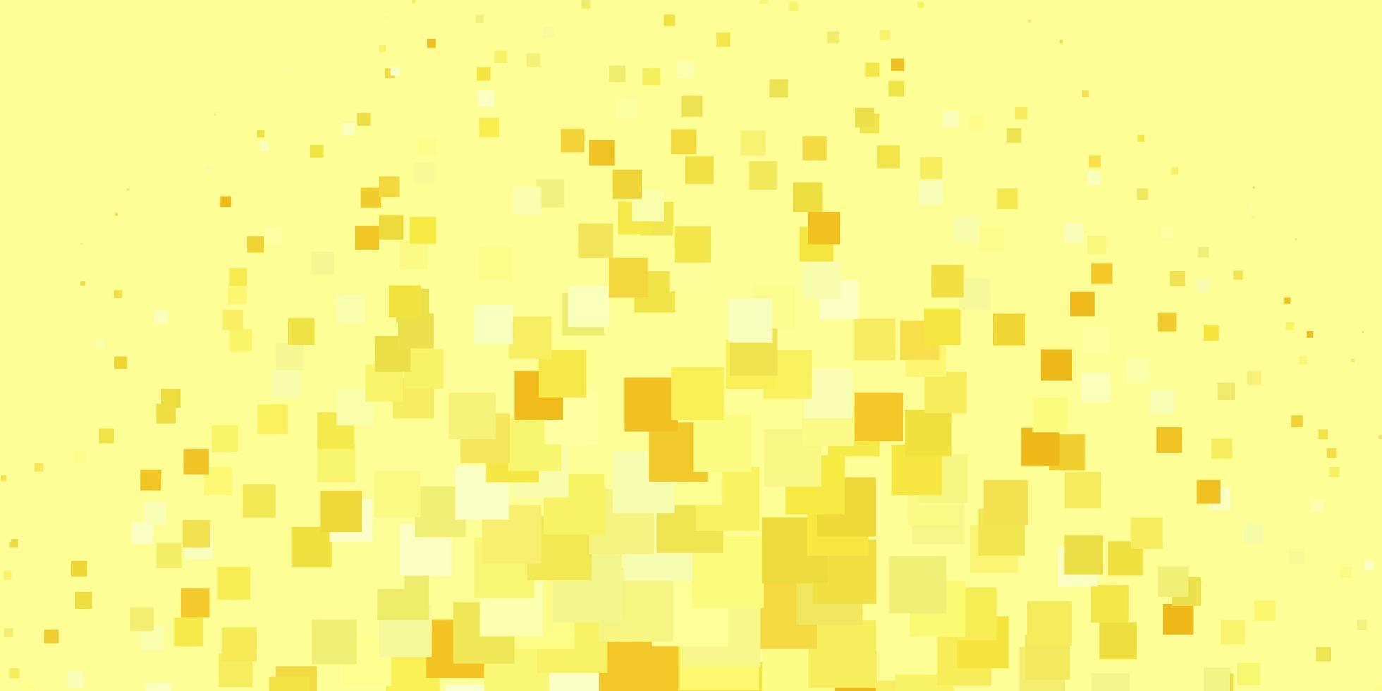 lichtgroene, gele vectorachtergrond in veelhoekige stijl. vector