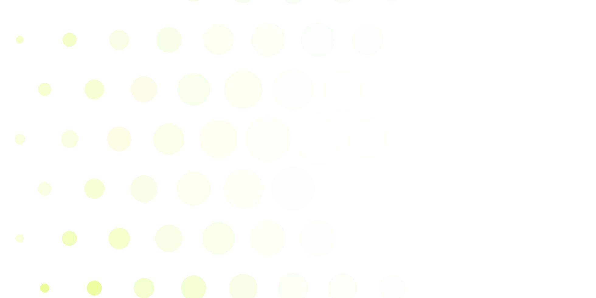 lichtgroene vectortextuur met cirkels. vector