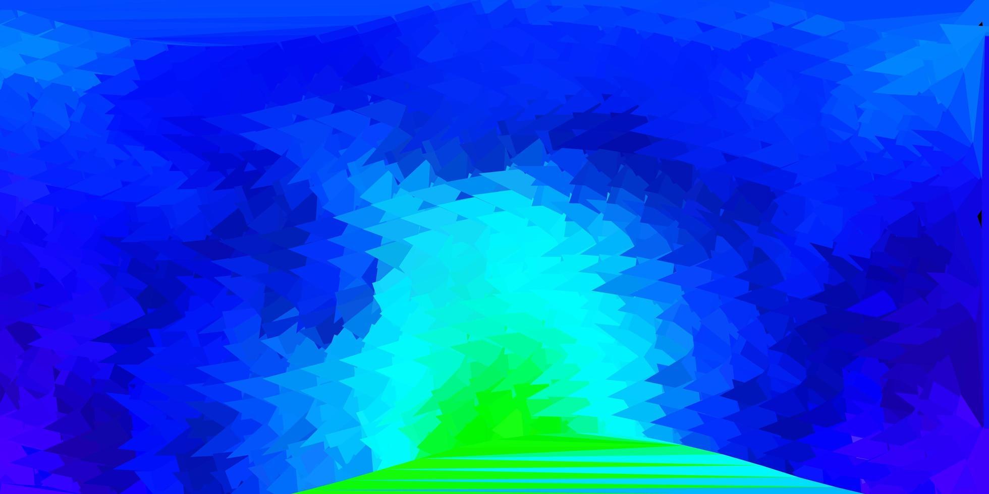 donker veelkleurig vector driehoek mozaïek patroon.
