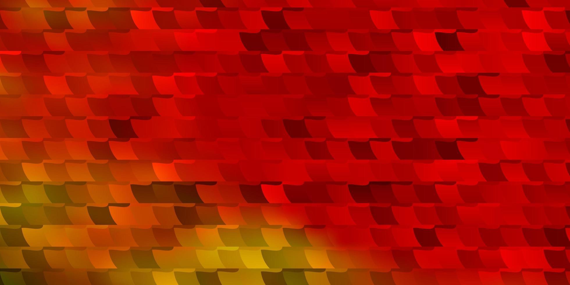 licht veelkleurige vectortextuur in rechthoekige stijl. vector