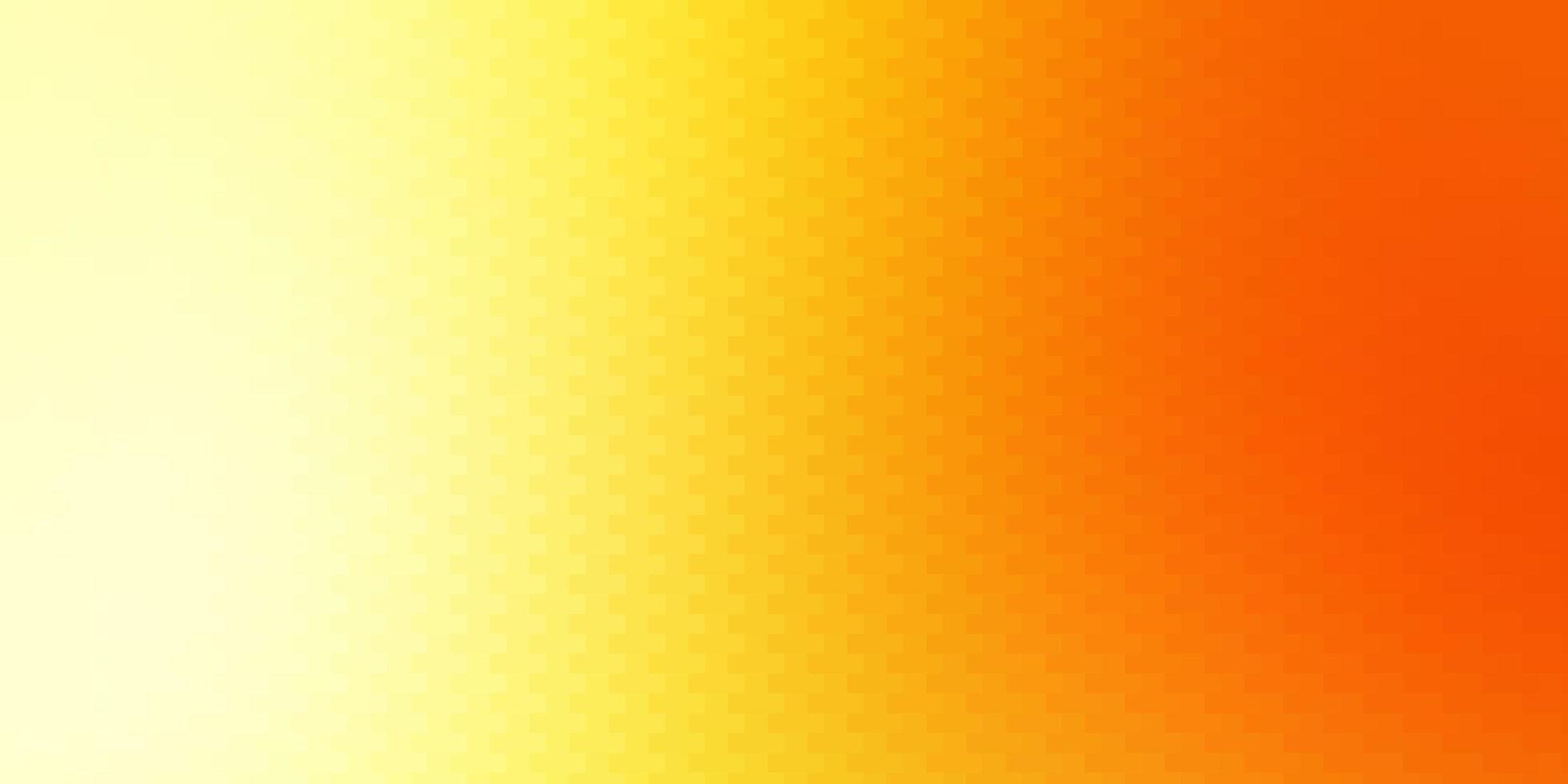 lichtrode, gele vectorachtergrond met rechthoeken. vector