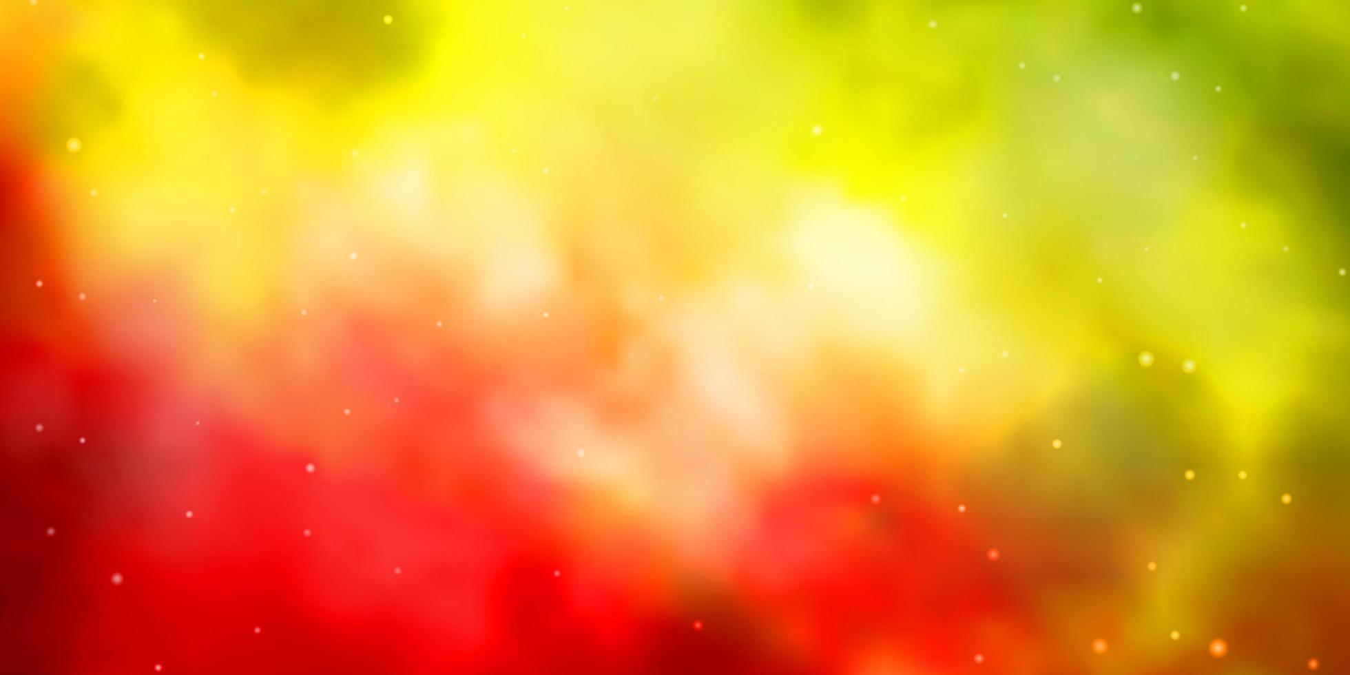 donker veelkleurig vectorpatroon met abstracte sterren. vector