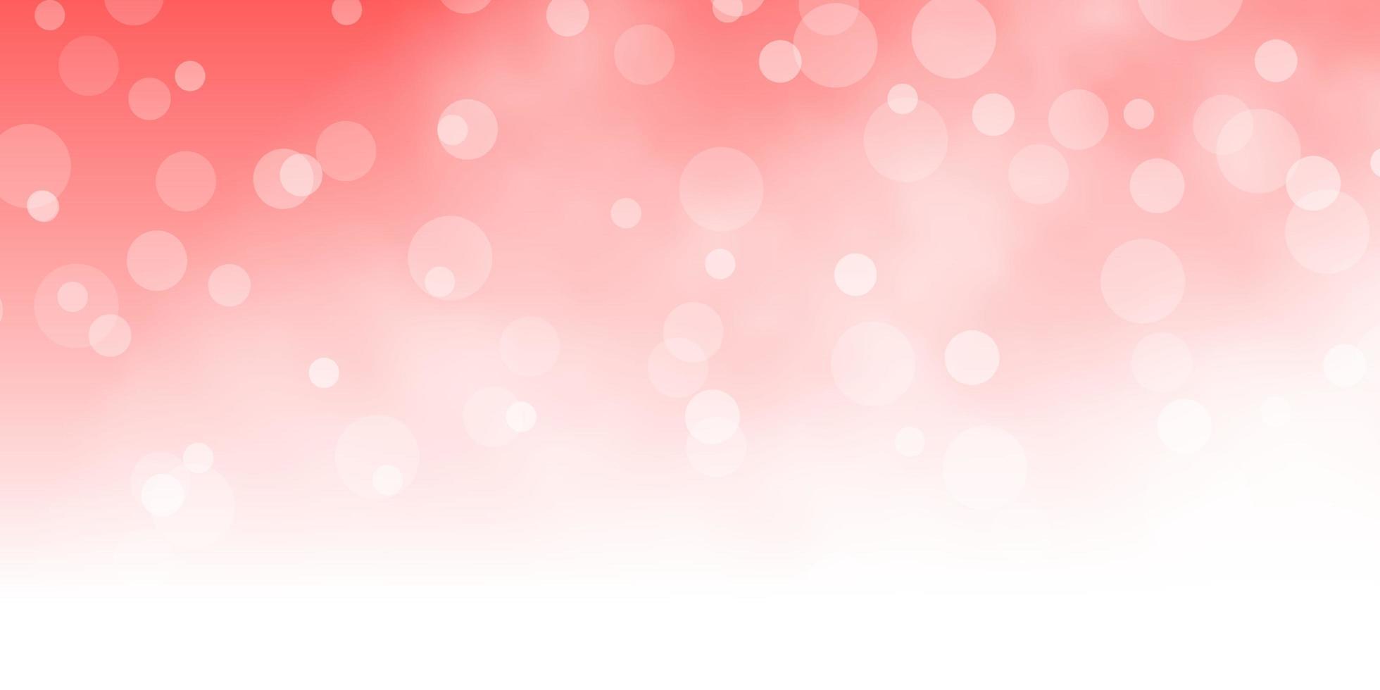 lichtrode vector achtergrond met cirkels.