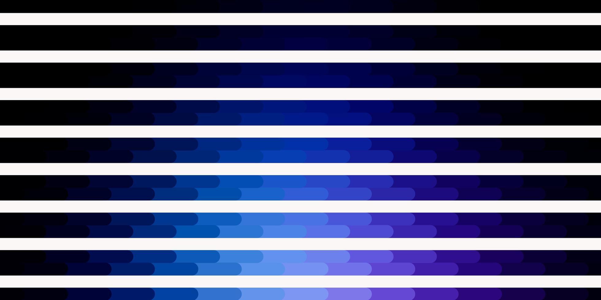 donkerroze, blauw vectorpatroon met lijnen. vector