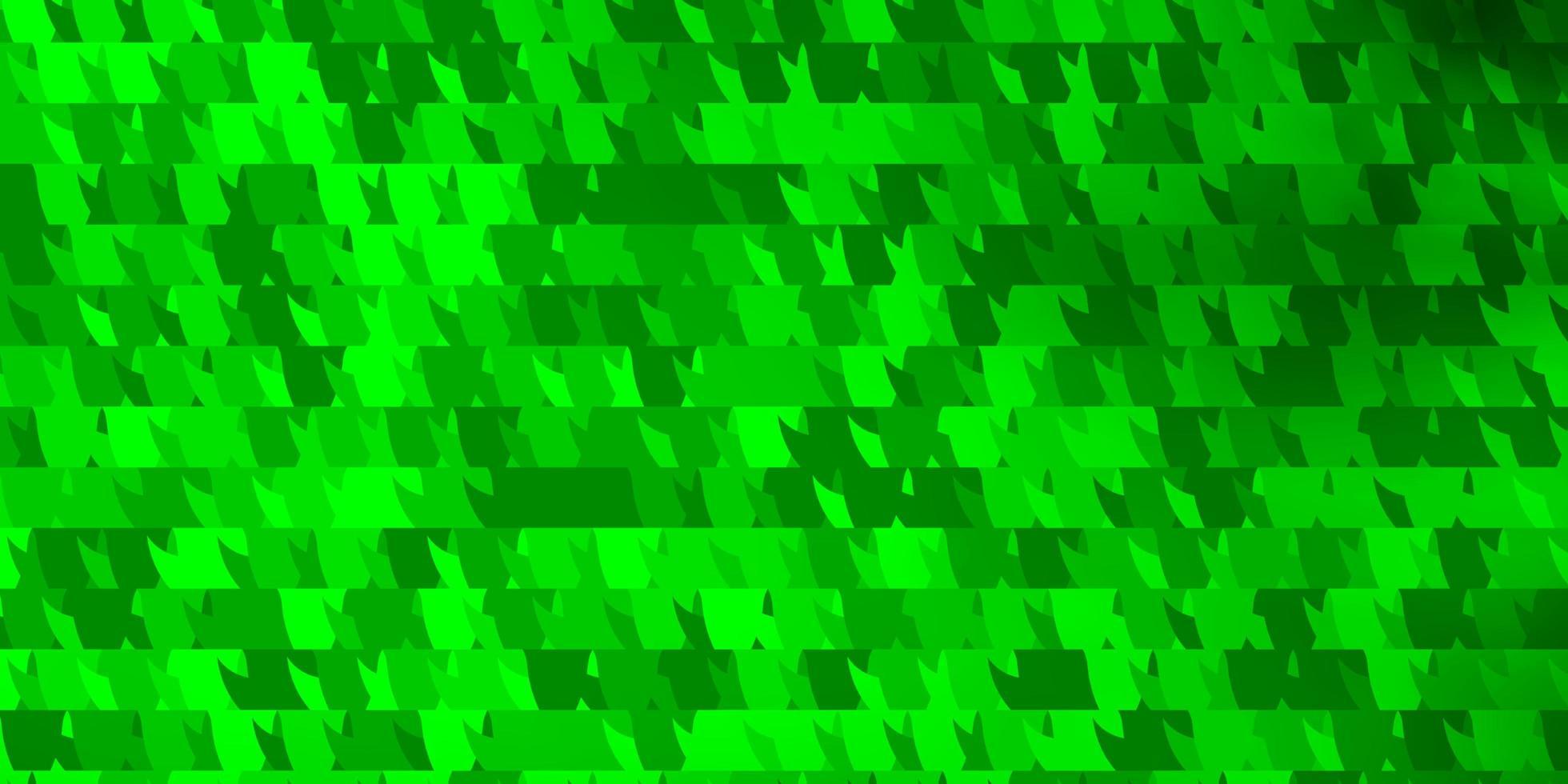 lichtgroene vector achtergrond met driehoeken.