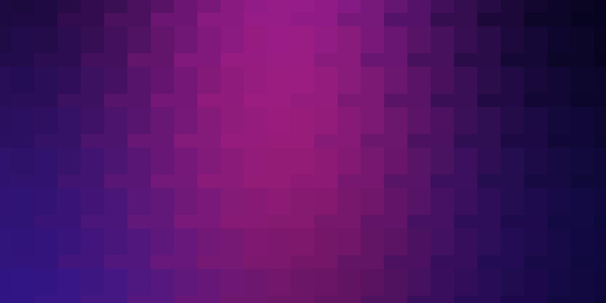 lichtpaars, roze vectorpatroon in vierkante stijl. vector