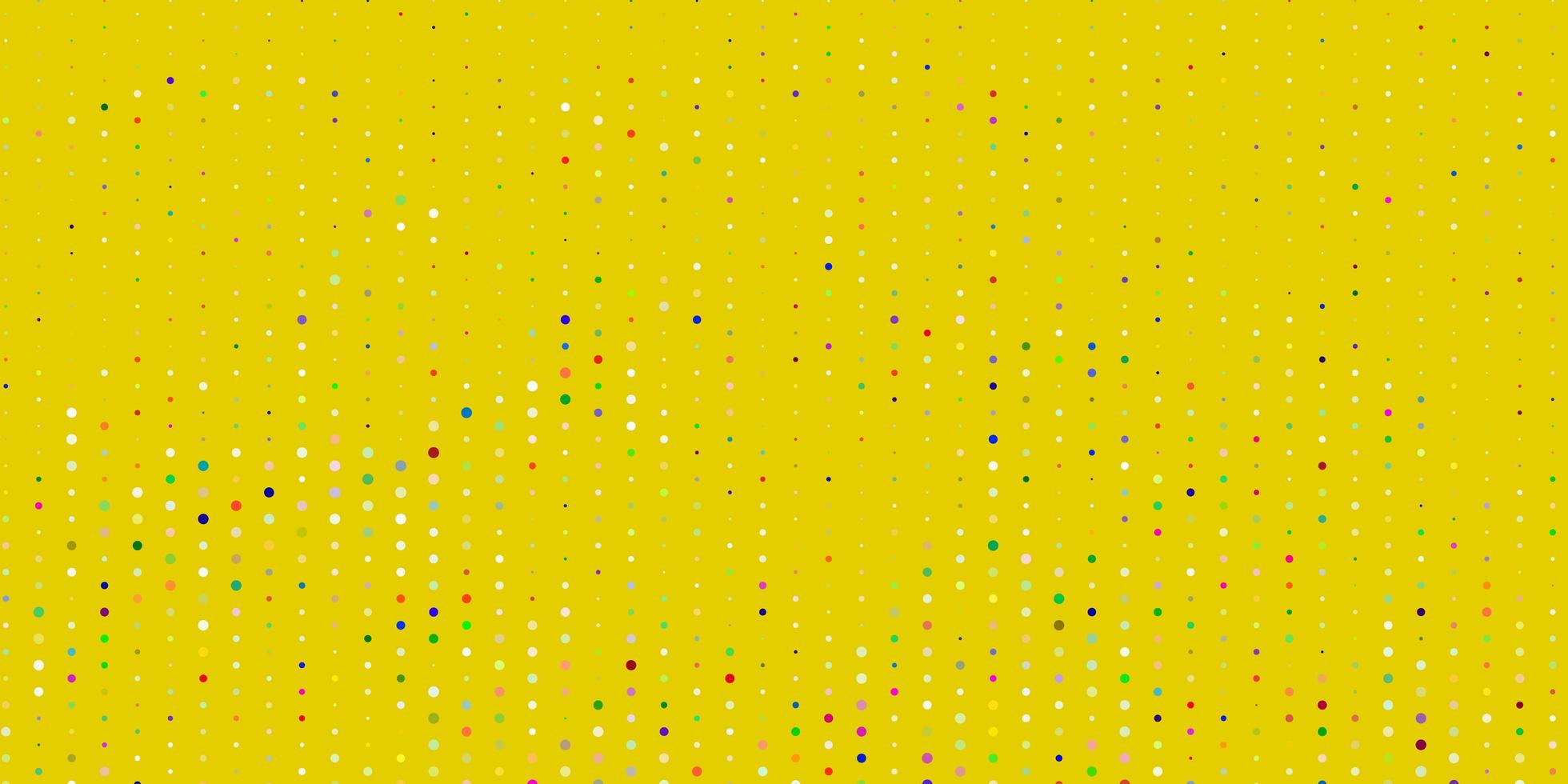 licht veelkleurige vectortextuur met schijven. vector